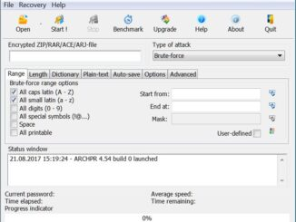 Advanced Archive Password Recovery Sample1