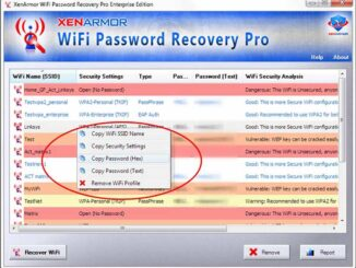 WiFi Password Recovery Pro Sample