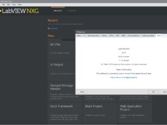 LabVIEW NXG screen
