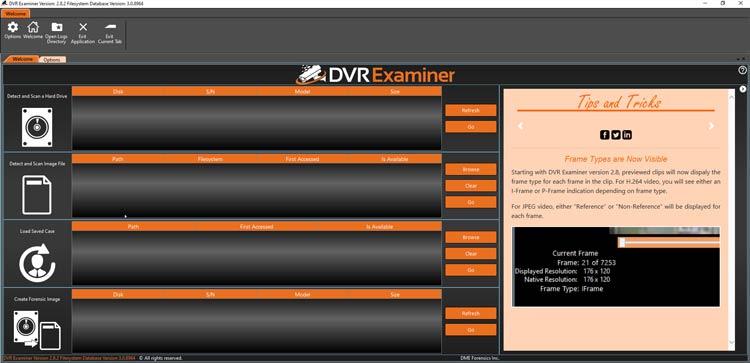 DVR Examiner