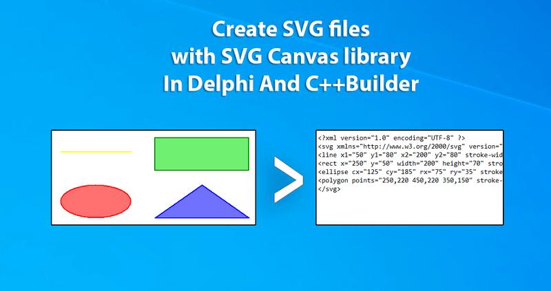 Canvas SVG