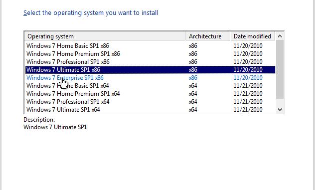 Windows 7 SP1 X64