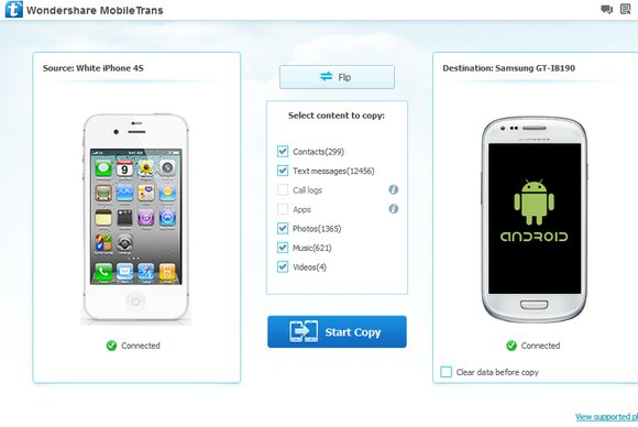 Wondershare MobileTrans 8.0.0.609 Win / 6.9.1.30 macOS