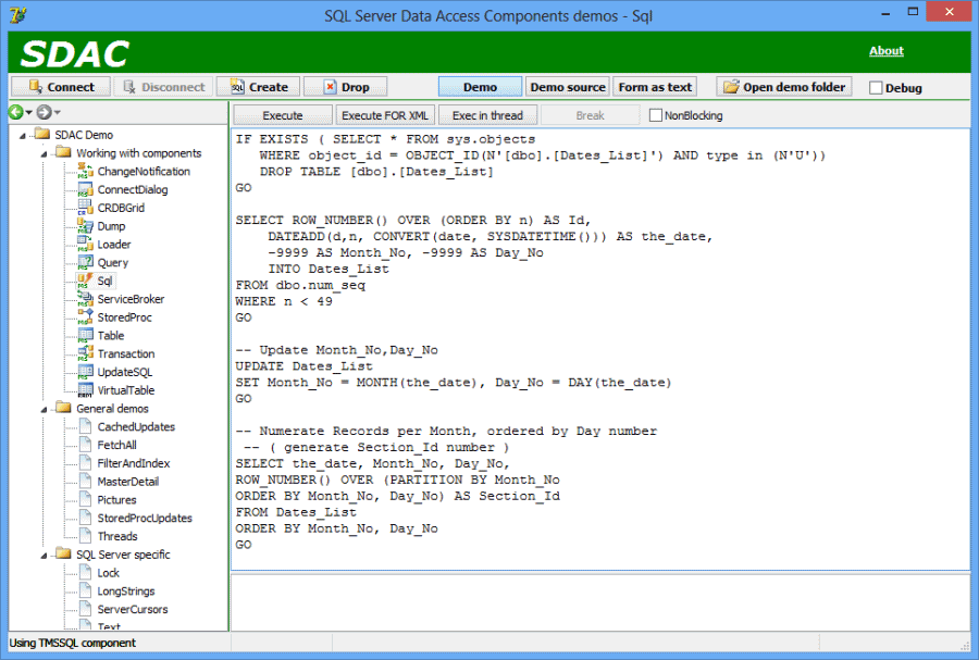 Devart SQL Server
