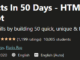 50 Projects In 50 Days