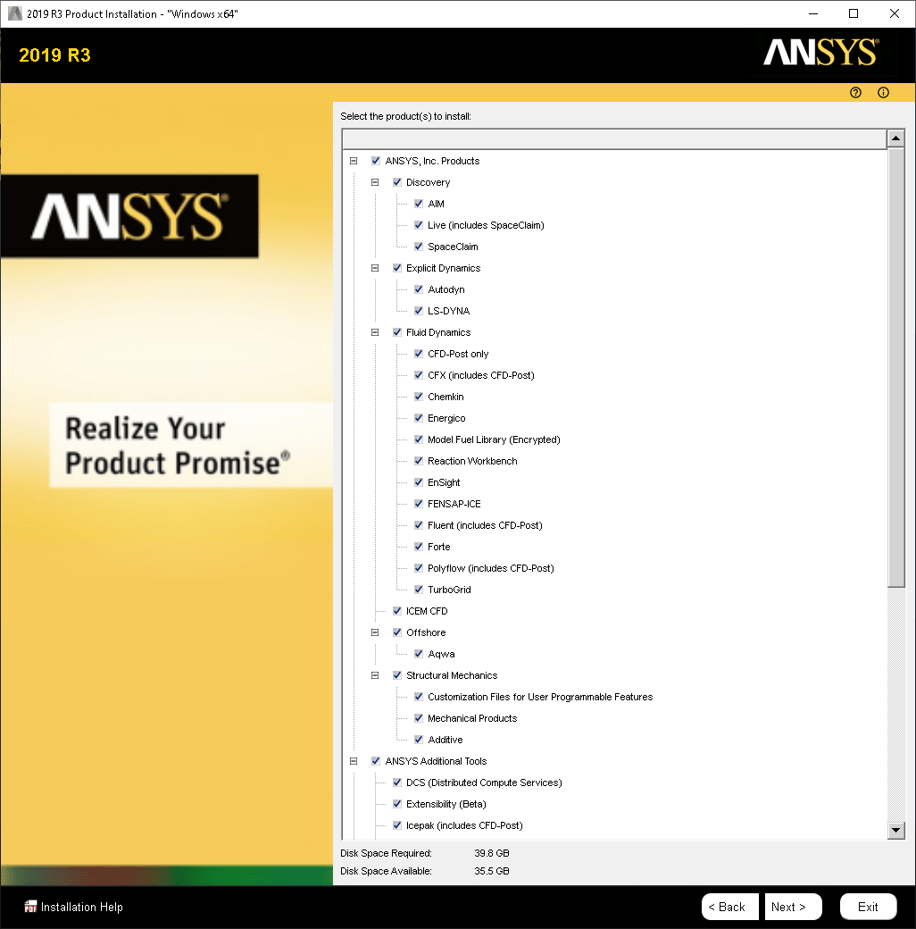 ANSYS Products 2021