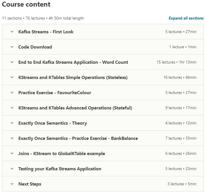Kafka Streams for Data Processing