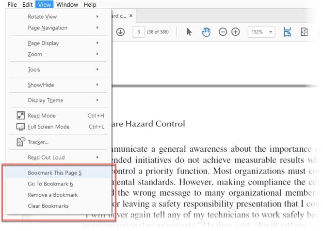 تعرف على كيفية وضع إشارة مرجعية على ملفات PDF والتعليق عليها