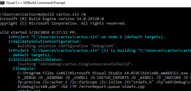 Build Tools for Visual Studio