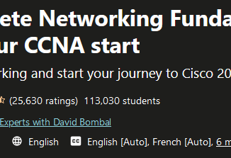 Networking Fundamentals Course