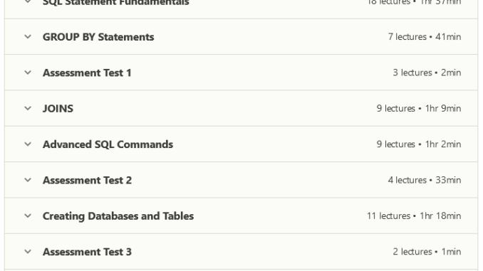 Complete SQL