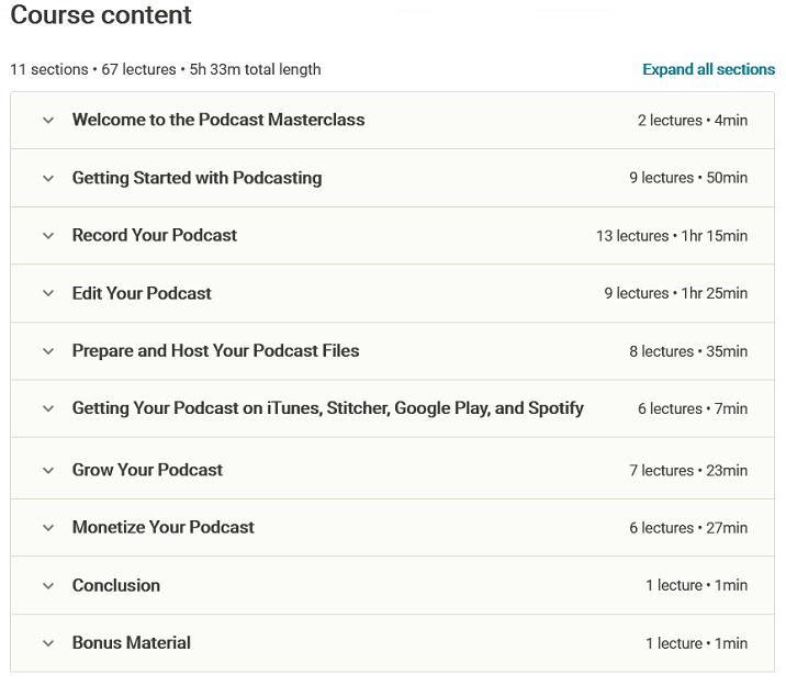 The Podcast Masterclass The Complete Guide to Podcasting