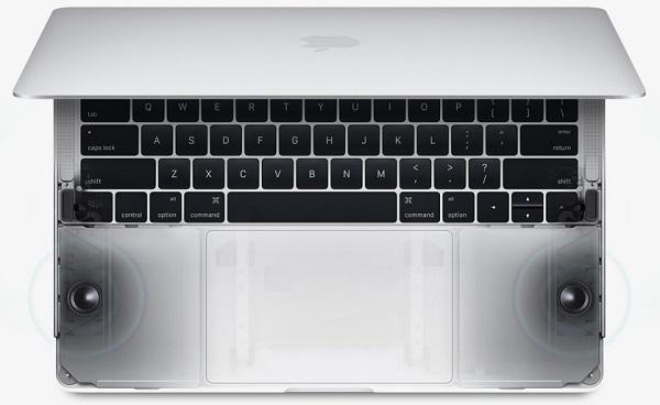 apple laptop speakers