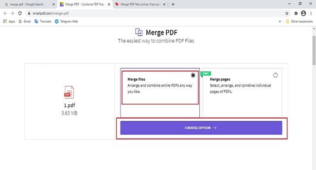 كيفية تحويل ملفات PDF متعددة إلى ملف واحد