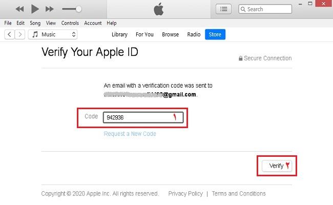أنشئ معرف Apple باستخدام تطبيق iTunes