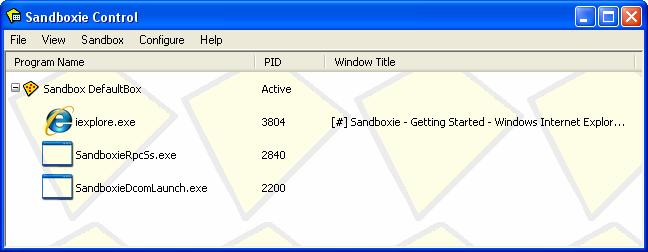 Sandboxie 5.45.2