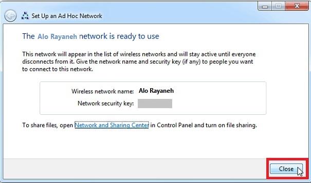 اتصال الإنترنت المحمول بالكمبيوتر
