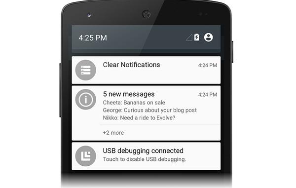 تقييد الإخطارات في Android