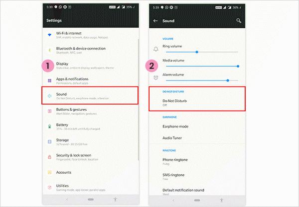 كيفية تقييد الإخطارات على هاتف Android