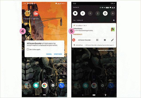 كيفية التقاط شاشة هاتف Android