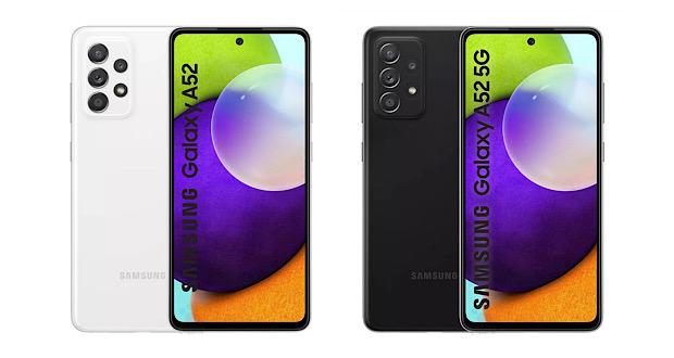 مواصفات Samsung Galaxy A52