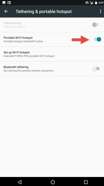 wifi hotspot 7 1