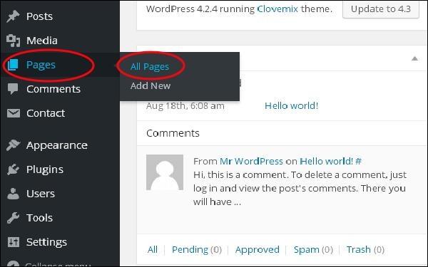 WordPress إضافة روابط