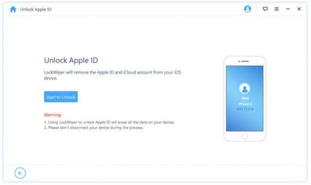 احذف معرف Apple بدون كلمة مرور