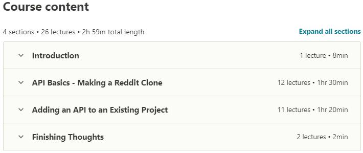 Creating Python APIs Like a BOSS The Django REST Framework contents