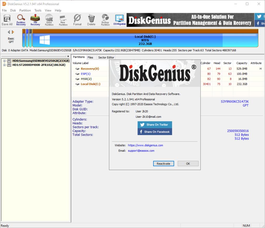 DiskGenius