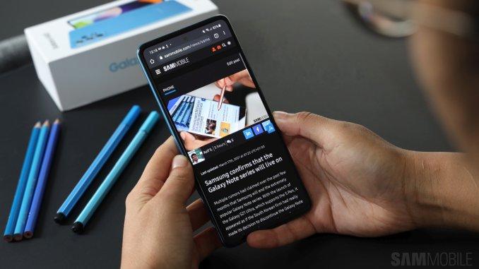 Galaxy A52 22
