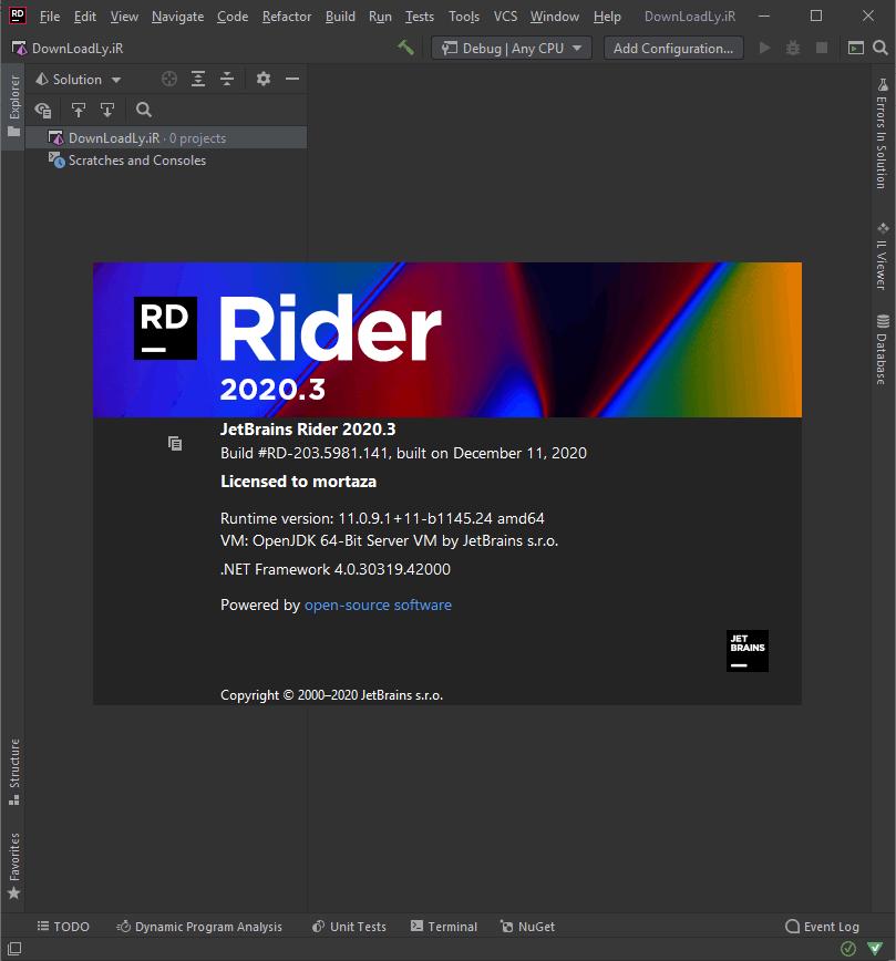 JetBrains Rider