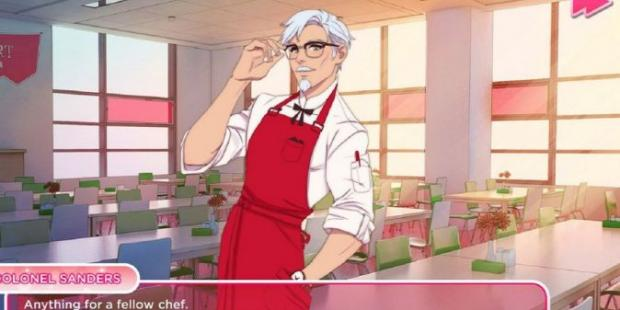 KFC dating sim I Love You Colonel Sanders 620x310 1