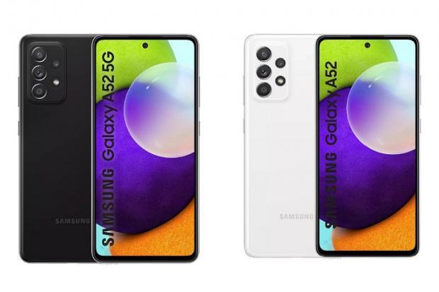 تاريخ تقديم الهاتفين Galaxy A72 و A52