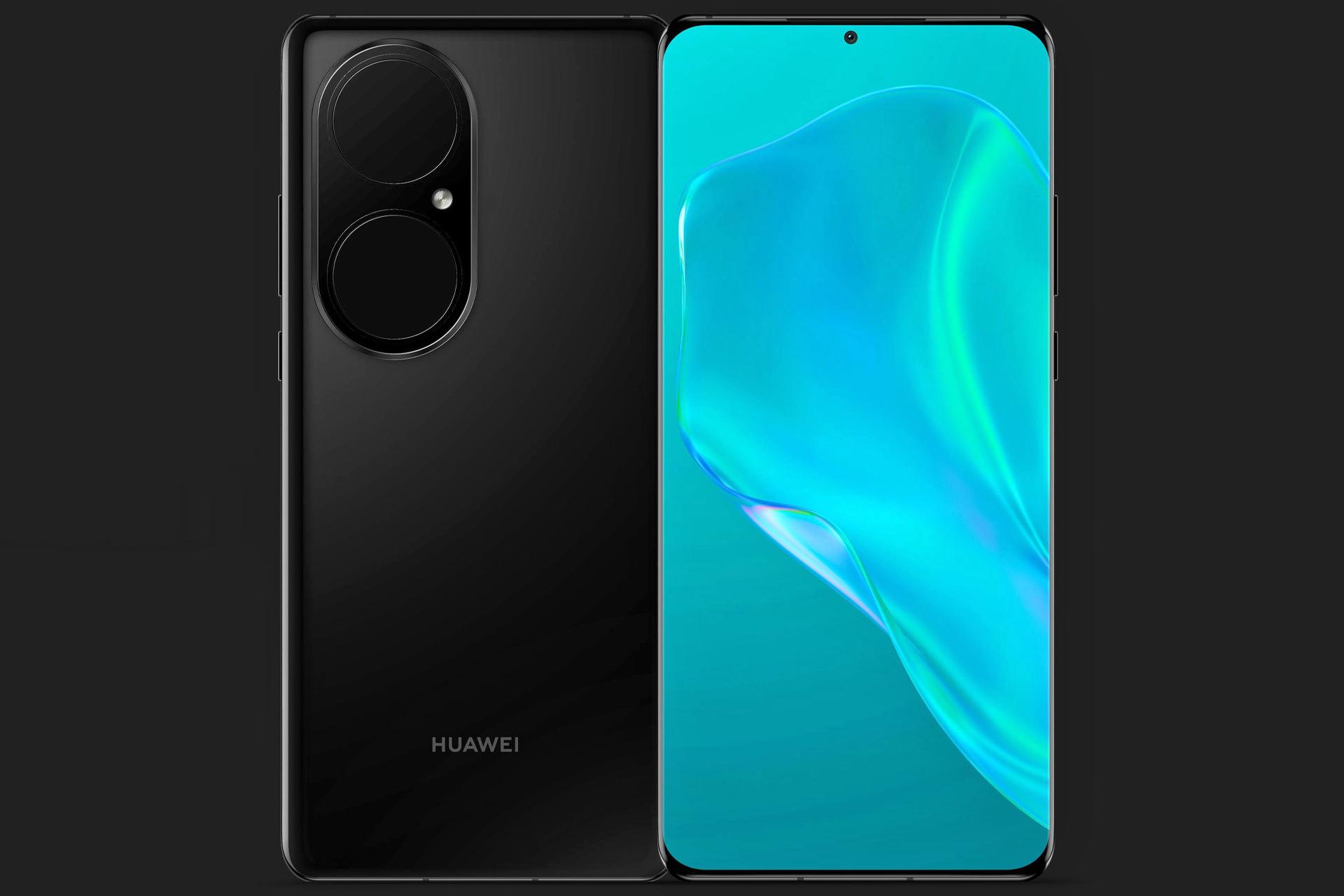 تم الكشف عن عرض شاشة Huawei P50 Pro بملء الشاشة واللوحة الخلفية