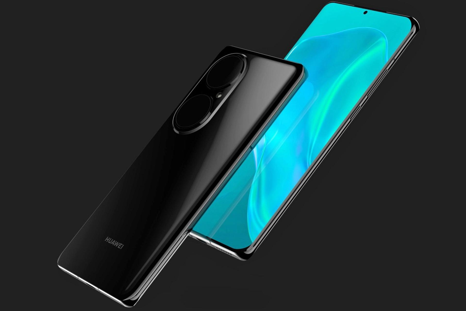 تم الكشف عن عرض Huawei P50 Pro من الأمام والخلف إلى اليمين