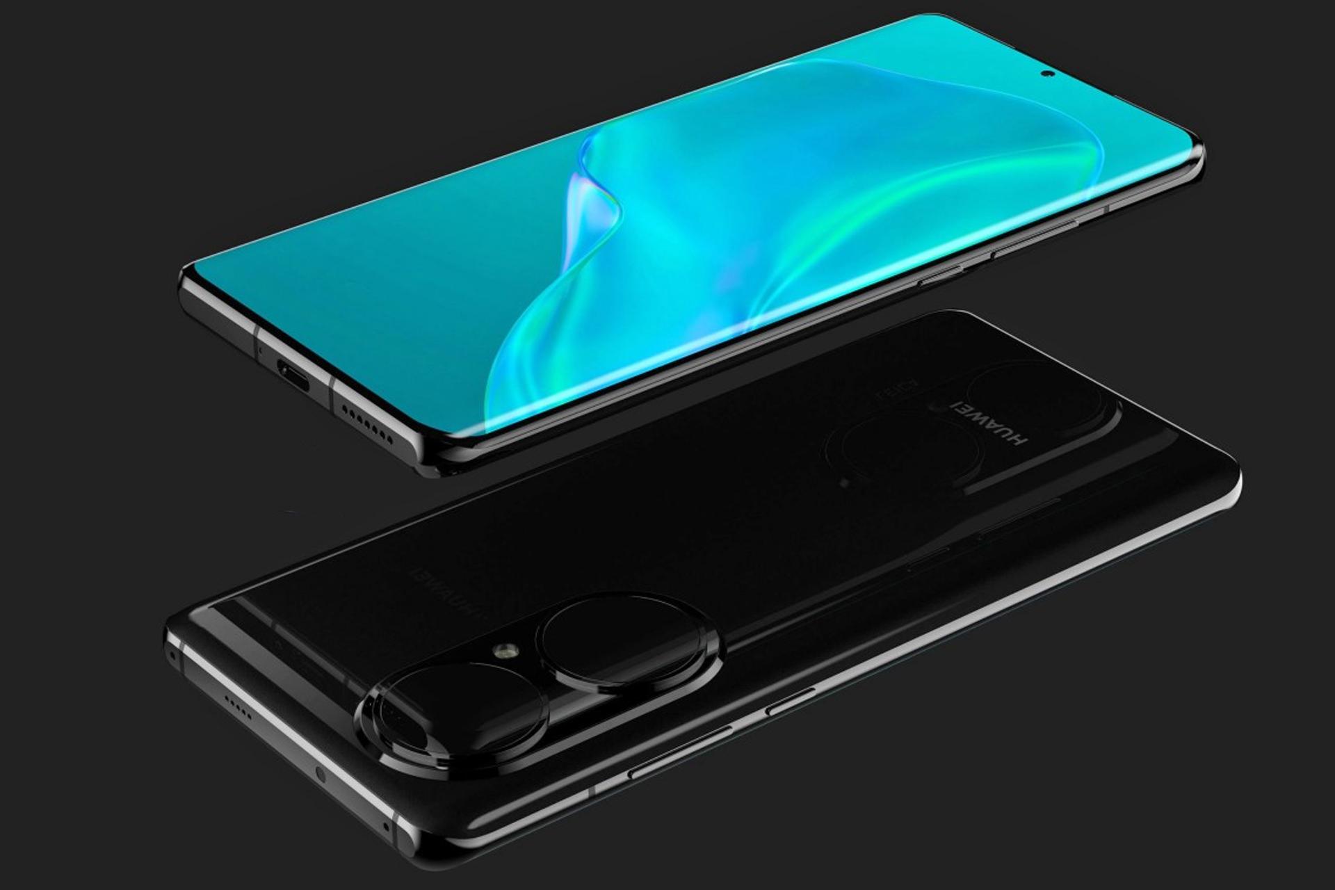 تم الكشف عن أعلى وأسفل عرض Huawei P50 Pro