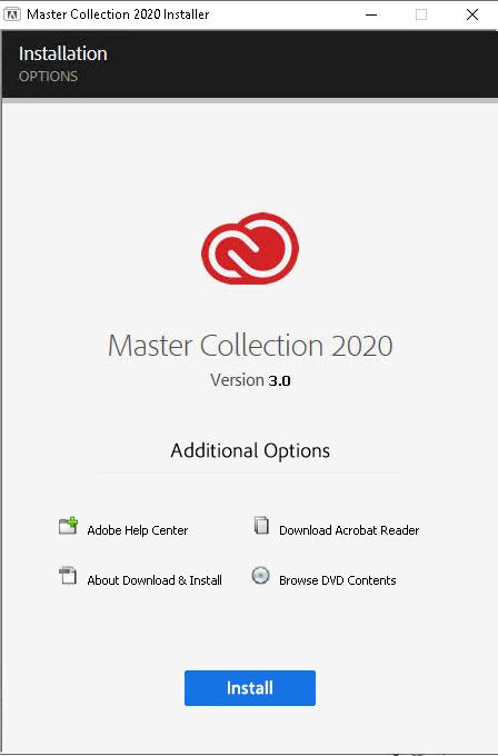 مجموعة Adobe Master 2020