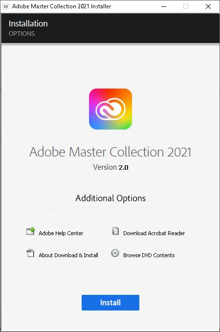 مجموعة Adobe Master 2021
