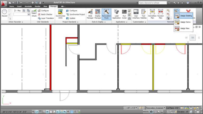 هندسة AutoCAD