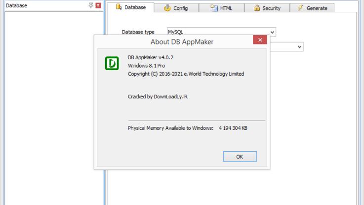 DB AppMaker