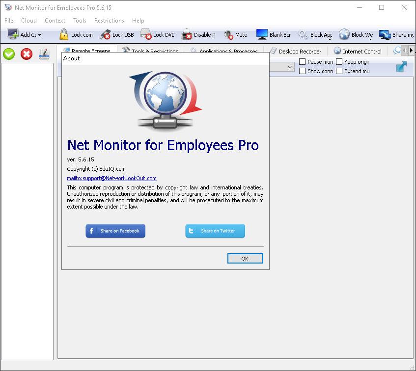 EduIQ Net Monitor