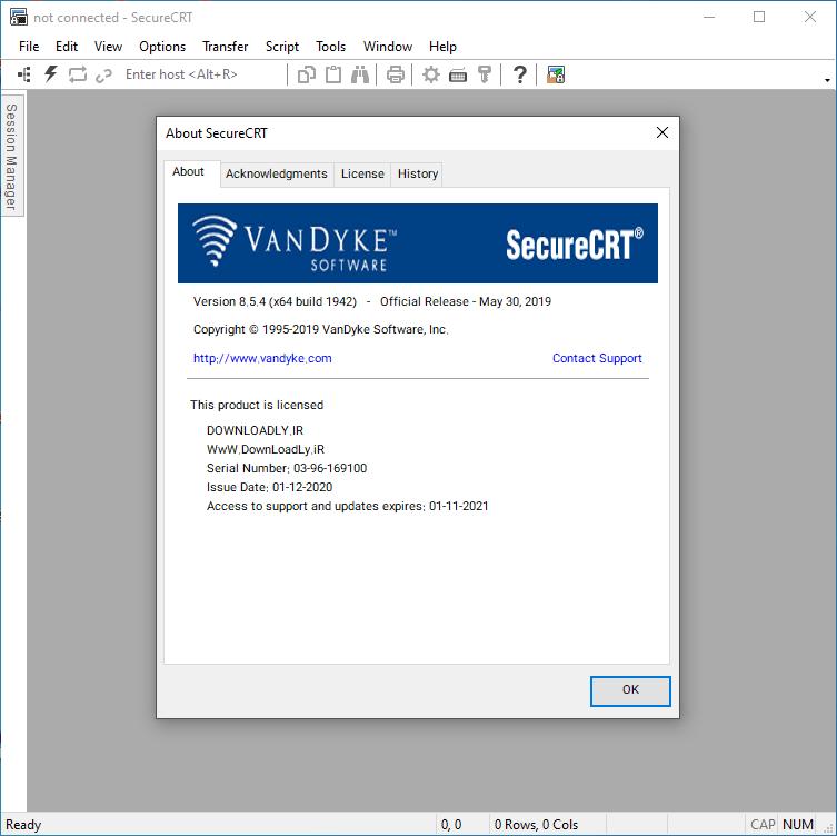 VanDyke SecureCRT