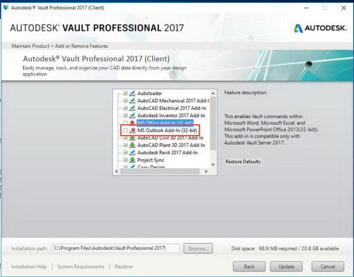 Autodesk Vault