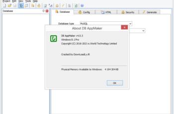 e.World Tech DB AppMaker 4.0.3