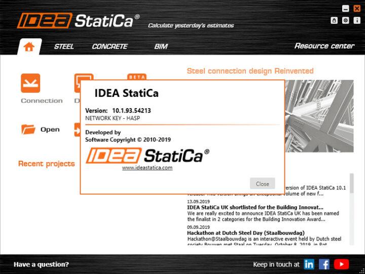 IDEA StatiCa 21.0.0.3227