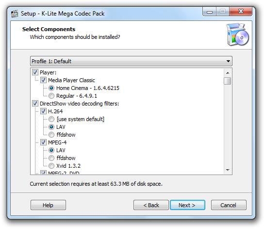 Mega Codec Pack