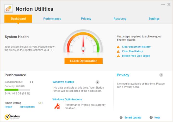 Symantec Norton Utilities 17.0.8.60
