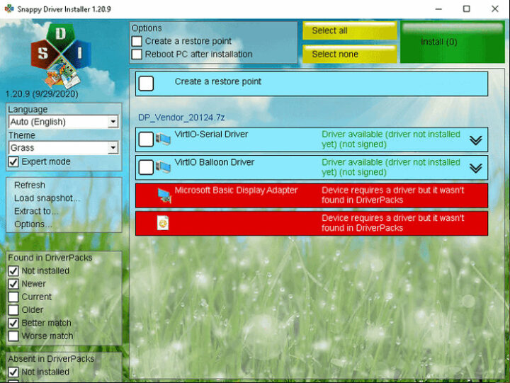 Snappy Driver Installer 1.21.2