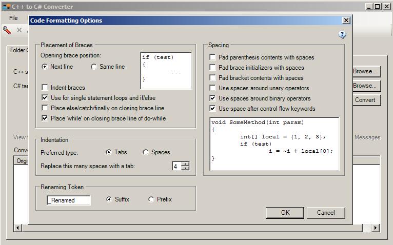 Source Code Converters